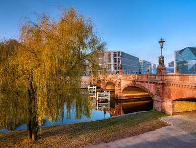 Moltkebrücke / Moltke bridge