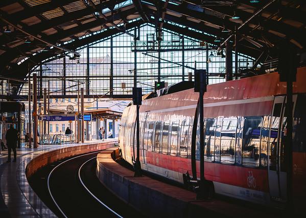 Train Station Friedrichsstaße