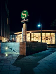 S-Bahn Station Friedrichstraße with Tränenpalast