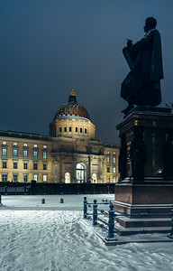 Schinkel Place with Berlin palace