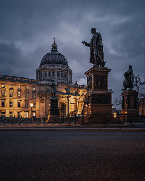 Schinkelplatz with Berlin Palace