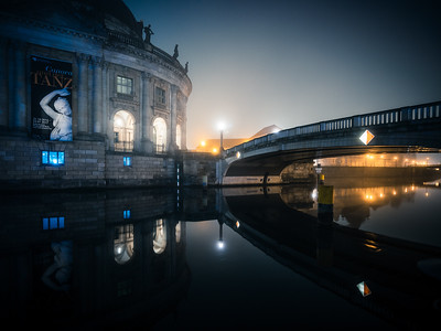 Bode Museum and Monbijou Bridge