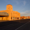 Beautiful downtown Lordsburg, NM, at sunrise.