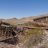 Coal sorter equipment for railroad.