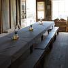 Stratford Hotel dining room.