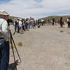 Getting ready for the gunfight re-enactments.