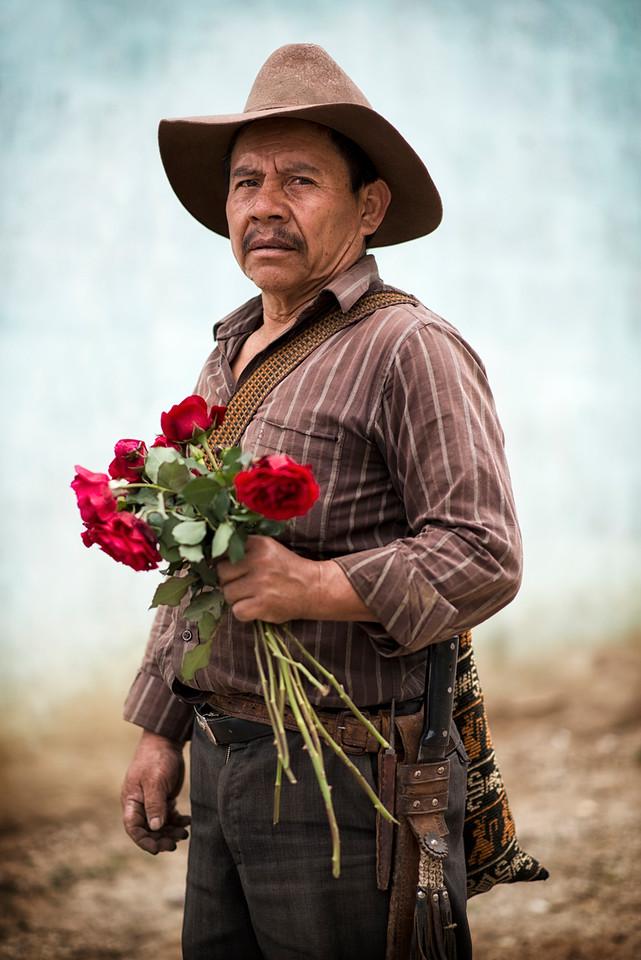 Portrait of a Mayan man.<br /> <br /> San Pedro La Laguana, Guatemala, 2014.