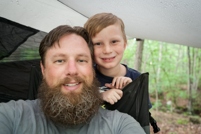 Kyle and I. Digital, Trout Pond Recreation Area, West Virginia, Jun 2014.