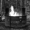 Camping at Trout Pond. Digital. July 2017.