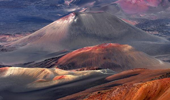 Mineral domes in Haleakala, #0089