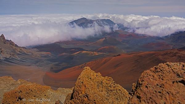 Haleakala Crater on Maui, Hawaii, #0657