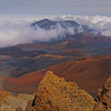 Haleakala Crater on Maui, Hawaii, #0657