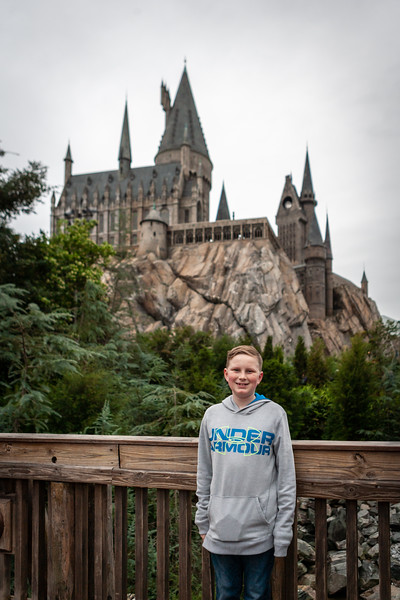 Spring break 2019 trip to Universal Studios Orlando to experience Harry Potter and alligators. Digital. March 2019.