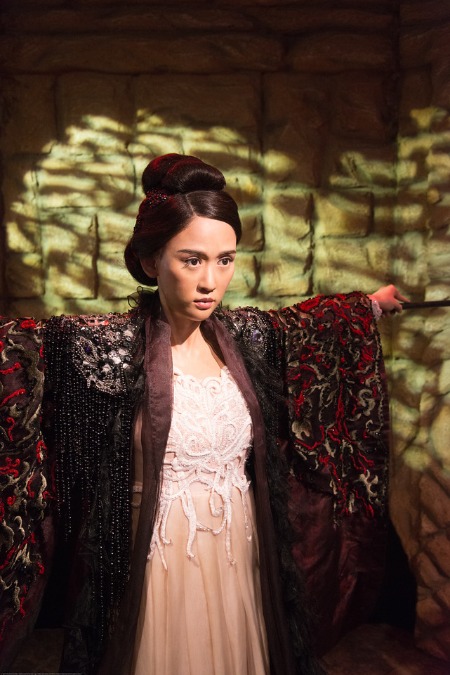 Life like models at the wax museum. Madame Tussauds Hong Kong, part of the renowned chain of wax museums founded by Marie Tussaud of France, is located at the Peak Tower on Hong Kong Island in Hong Kong.
