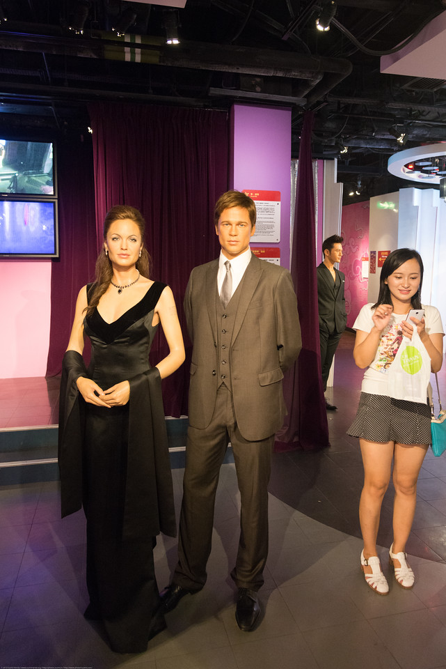 Madame Tussauds Hong Kong, part of the renowned chain of wax museums founded by Marie Tussaud of France, is located at the Peak Tower on Hong Kong Island in Hong Kong.