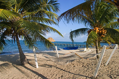 Hammock on the beach in Hopkins.