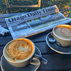 Otago times and coffee