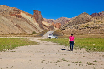 Delora in Owyhee reservoir