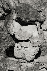Face rock in Juniper Gulch