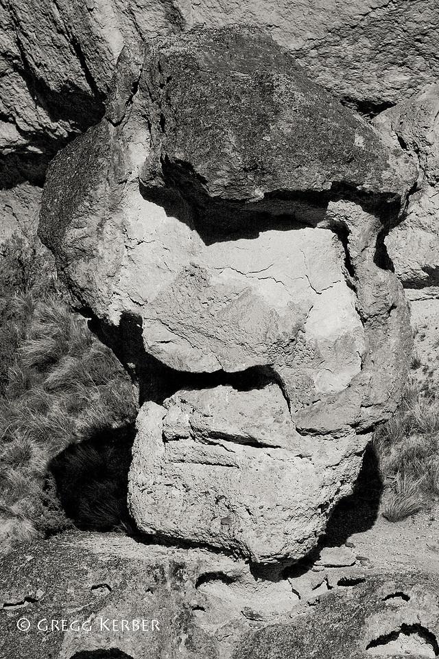 Face rock in Juniper Gulch