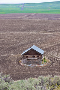 Lonely old building near Condon, OR