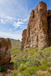 The Palisades, John Day Fossil Beds, Clarno Unit, OR