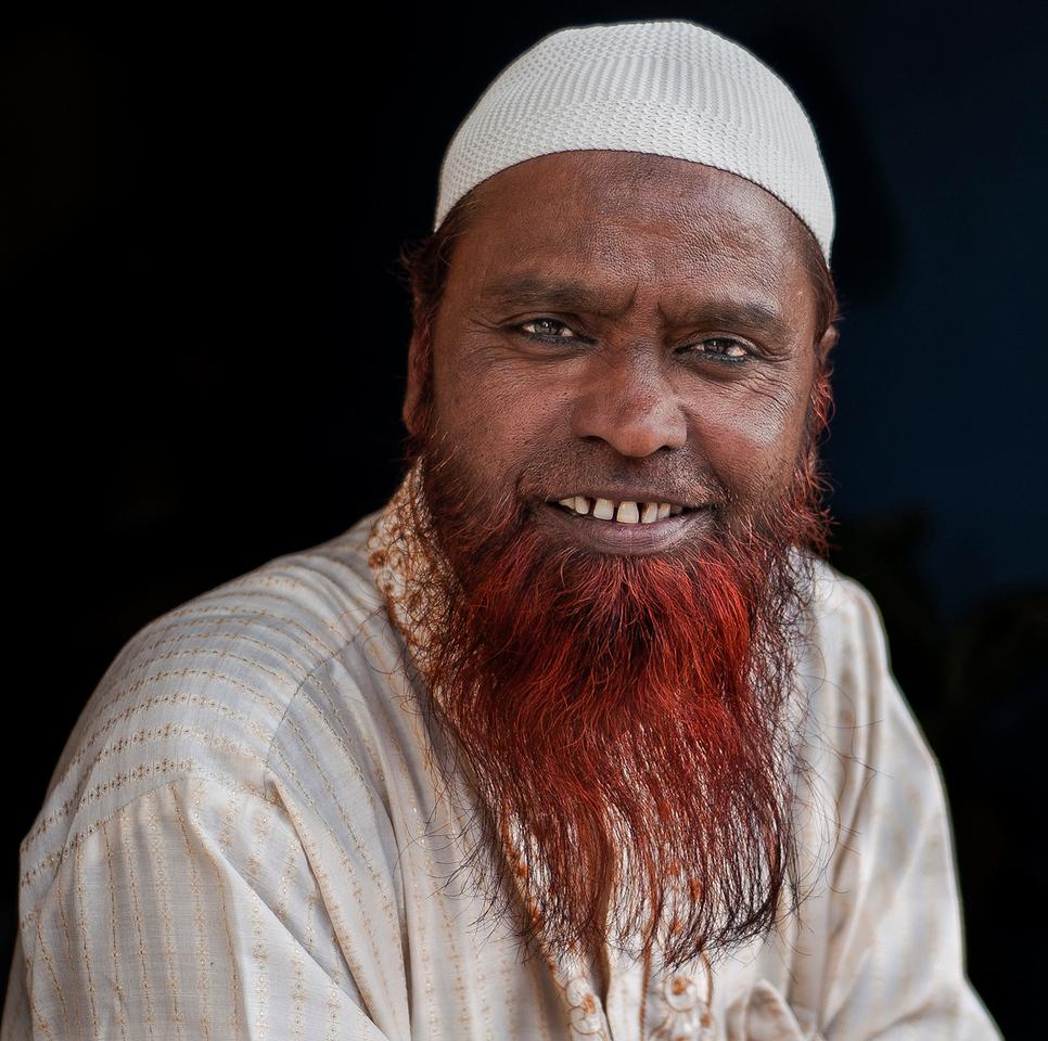 Muslim hostel owner in Udaipur.<br /> <br /> Rajasthan, India, 2011.