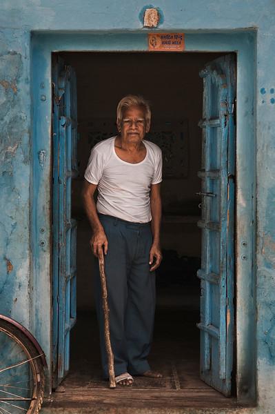 Small village outside of Bundi.<br /> <br /> Rajasthan, India, 2011.