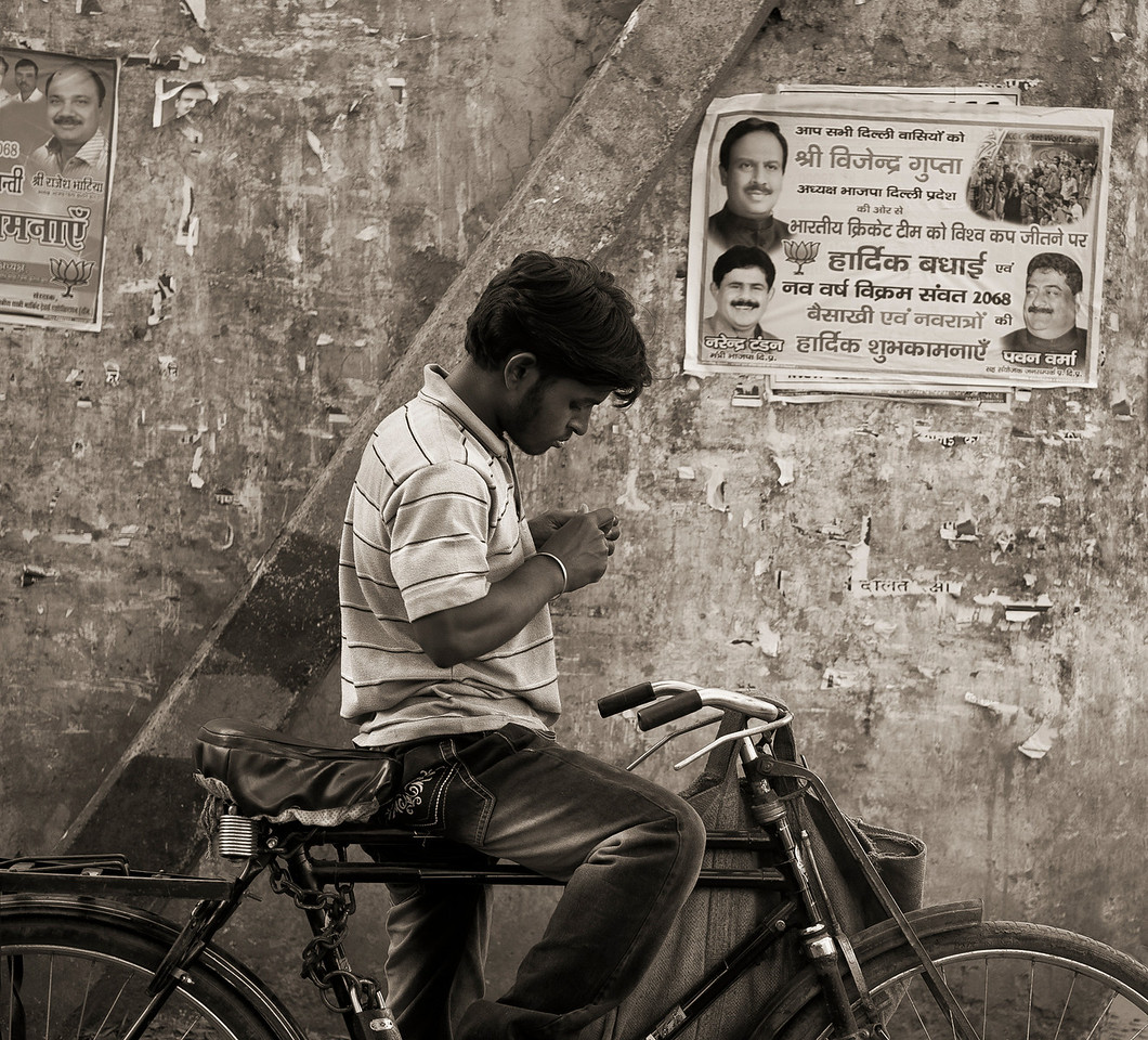 Street scene.<br /> <br /> Udaipur,Rajasthan, India, 2011.