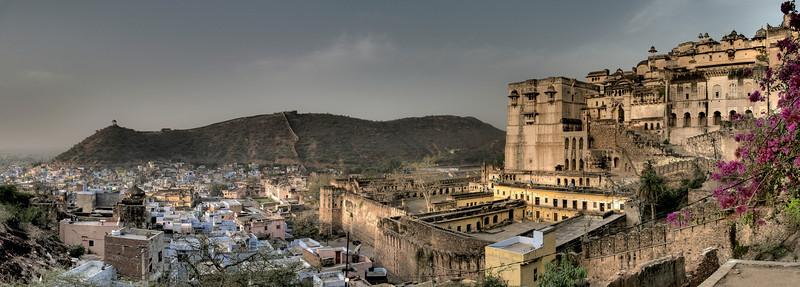View of Bundi.<br /> <br /> Rajasthan, India, 2011