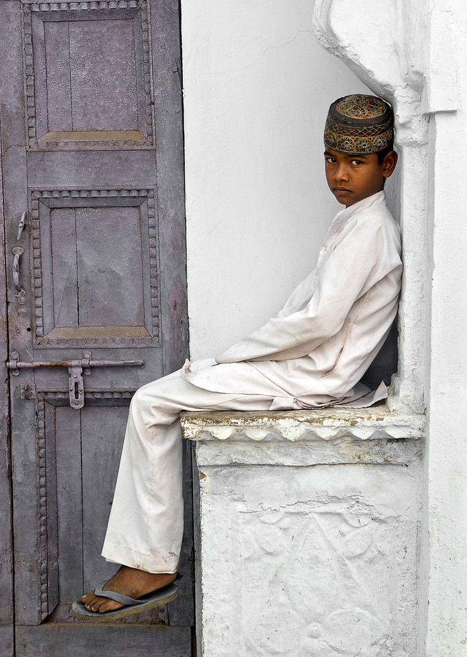 Muslim Boy, Bundi.<br /> <br /> Rajasthan, India, 2011.