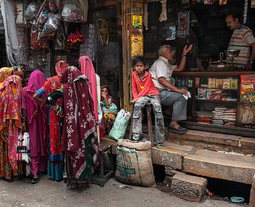Street scene.  Jaisalmer, India, 2011.