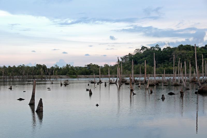 Damage due to tsunami at Port Blair, A&N, India
