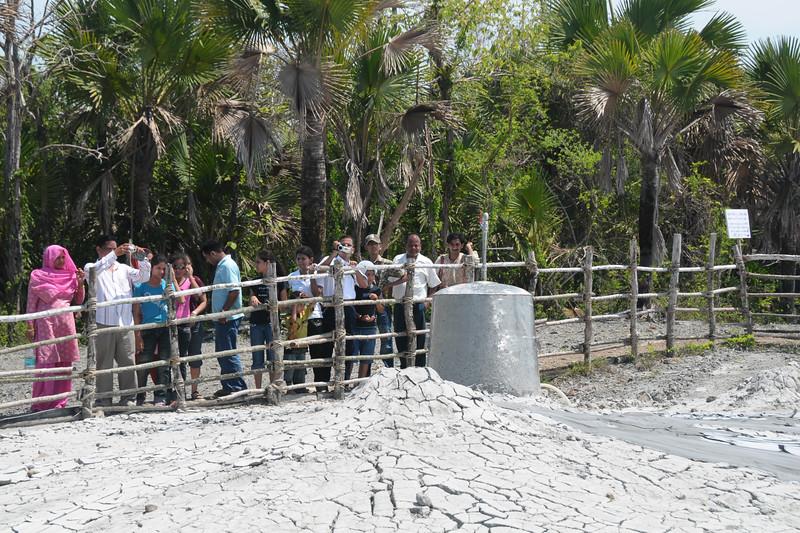 Live mud volcano at Baratang Island, A&N, Andaman & Nicobar Islands, India