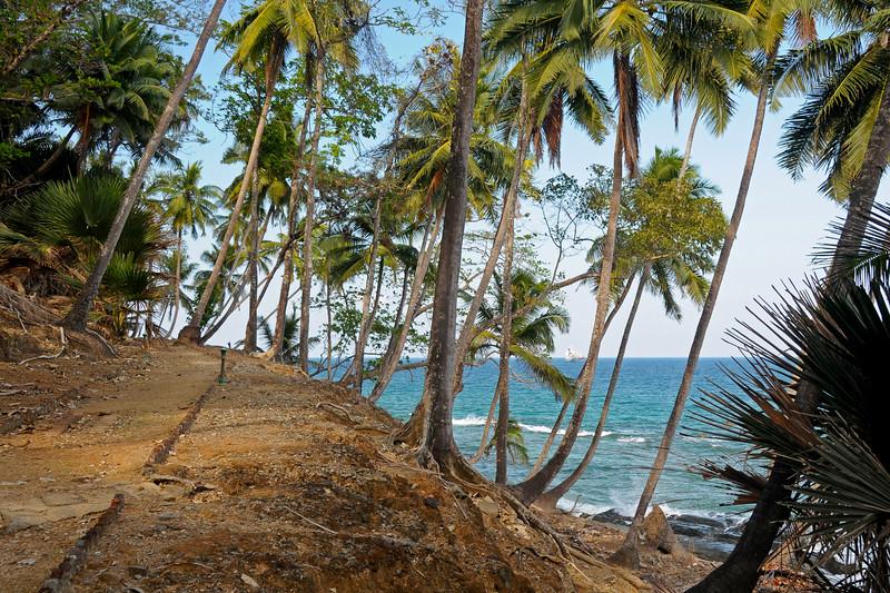 Ross Island in Port Blair, Andaman Islands
