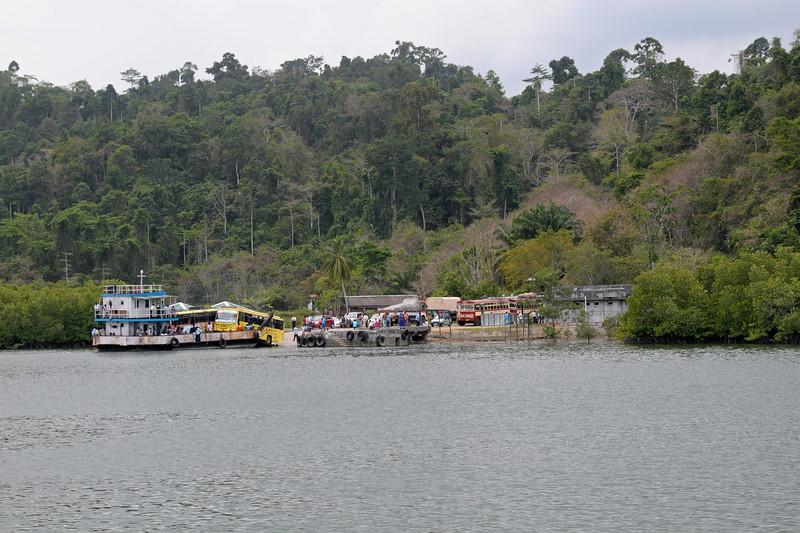 Inter island transportation on Andaman Islands
