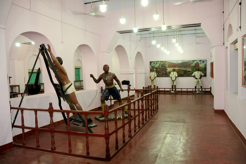 Attrocities meted out to freedom fighters houses in Kala Pani prison.<br /> National Memorial Cellular Jail in Port Blair, A&N (Andaman & Nicobar) Islands.