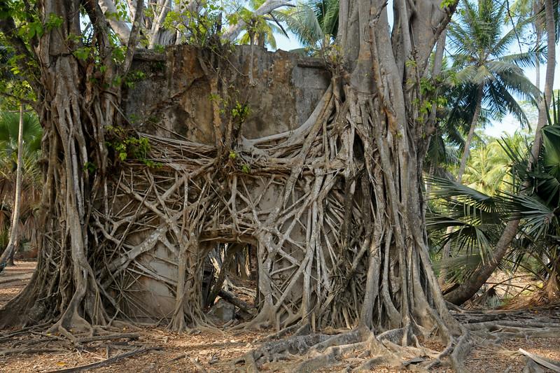 Ross Island at Port Blair, A&N, Andaman & Nicobar, India.