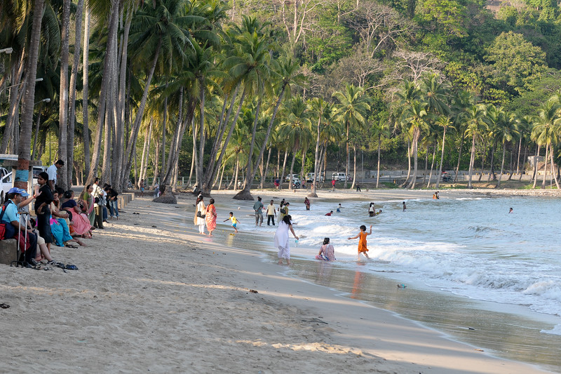 Lovely beaches at Port Blair, A&N (Andaman & Nicobar) Islands.