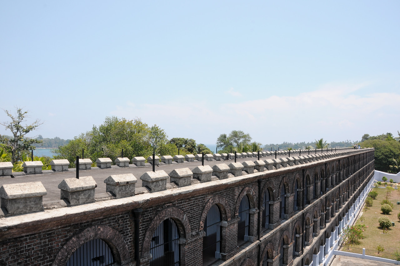 National Memorial Cellular Jail in Port Blair, A&N (Andaman & Nicobar) Islands.