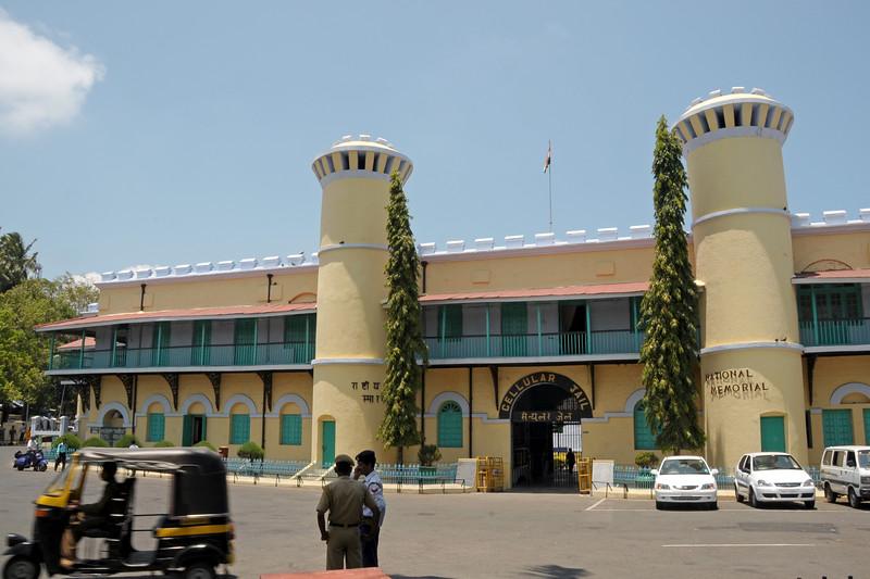 Entrance to National Memorial Cellular Jail in Port Blair, A&N (Andaman & Nicobar) Islands.