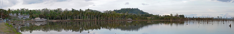 Panoramic view at Port Blair, A&N, Andaman & Nicobar Islands, India.