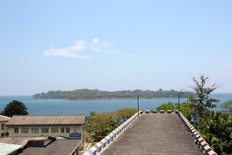 National Memorial Cellular Jail in Port Blair, A&N (Andaman & Nicobar) Islands.