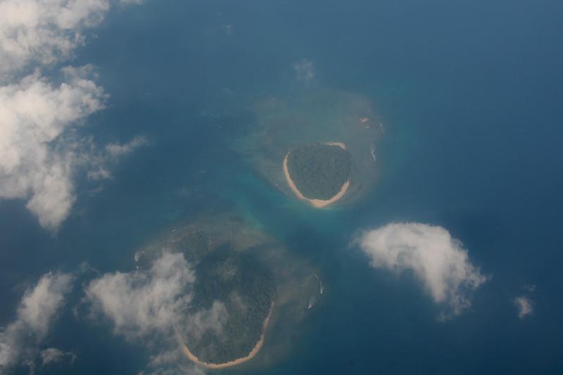 Ariel view of Port Blair, A&N.