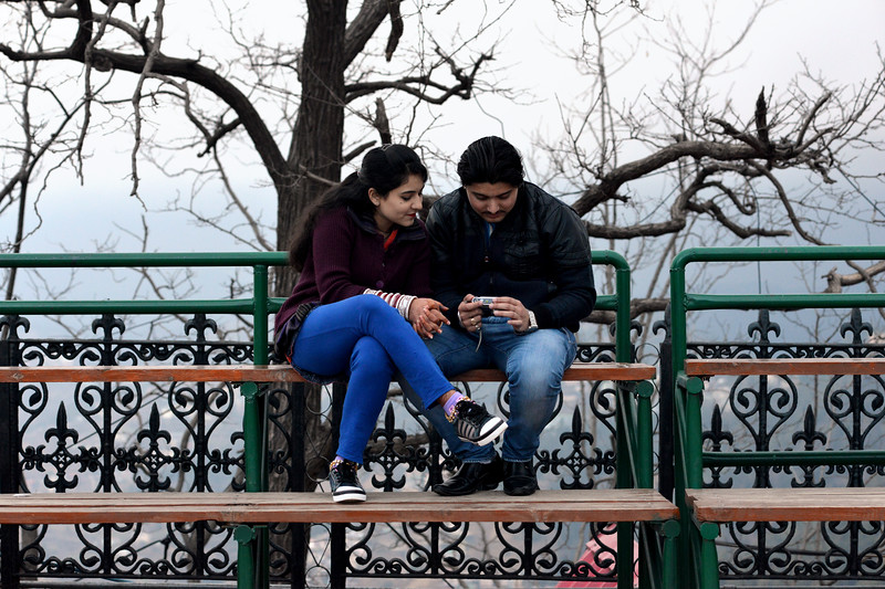 Honeymoon couples frequent Shimla from North India. Shimla is the capital city of the Indian state of Himachal Pradesh, located in northern India at an elevation of 7,200 ft. Due to its weather and view it attracts many tourists. It is also the former capital of the British Raj.