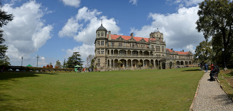 Indian Institute of Advanced Study is housed at the former Viceregal Lodge, built in 1884-88. Also known as Rashtrapati Niwas.  It houses some of the most ancient articles and photographs going back to the times of the British rule in India. The Viceregal Lodge was built in the Jacobethan style during the regime of Lord Dufferin. Shimla is the capital city of the Indian state of Himachal Pradesh, located in northern India at an elevation of 7,200 ft.