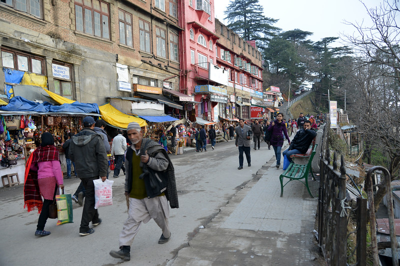 Shimla is the capital city of the Indian state of Himachal Pradesh, located in northern India at an elevation of 7,200 ft. Due to its weather and view it attracts many tourists. It is also the former capital of the British Raj.