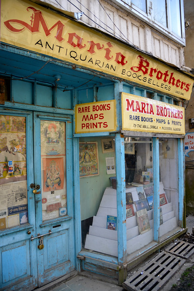 Maria Brothers - Antiquarian bookseller. Shimla is the capital city of the Indian state of Himachal Pradesh, located in northern India at an elevation of 7,200 ft. Due to its weather and view it attracts many tourists. It is also the former capital of the British Raj.