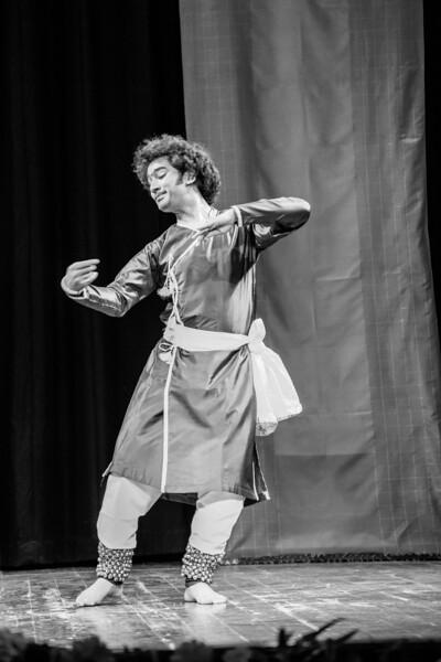 "Vishal Thakur, currently studying under Shri Rajendra Gangani, presented traditional Kathak items at iconic Gaiety Theatre on the Ridge, Shimla. In Dhrupad he performed ""Tandava gati mundane par nirtata Vanamali"" at the 1st edition of Classical Dance Festival, Shimla, Himachal Pradesh, India."