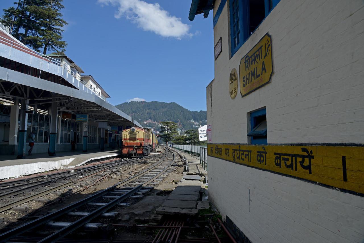 The Kalka–Shimla Railway was included in the UNESCO World Heritage List as part of the World Heritage Site Mountain Railways of India. Shimla is the capital city of the Indian state of Himachal Pradesh, located in northern India at an elevation of 7,200 ft. Due to its weather and view it attracts many tourists who arrive on the narrow gauge train.